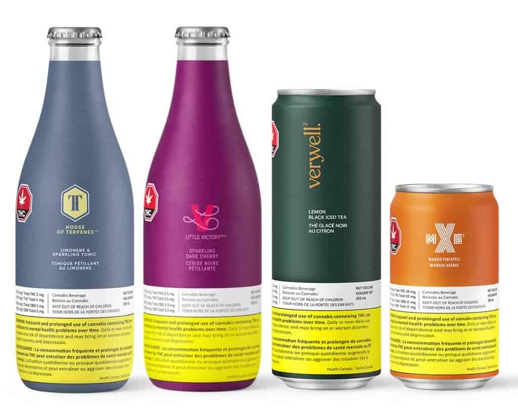 Hexo Corp Truss Beverage Molsen Coors Canada cannabisdranken cannabis drank
