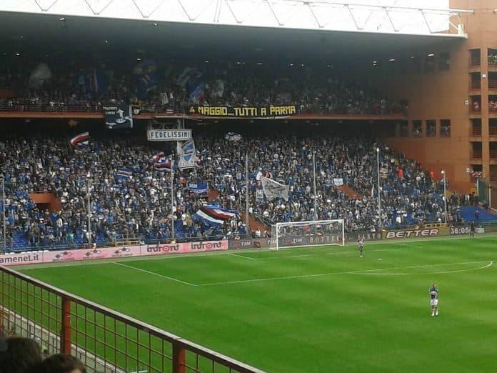 Profvoetbalclub voetbalclub Sampdoria cannabis light cbd justmary udinese hellas verona