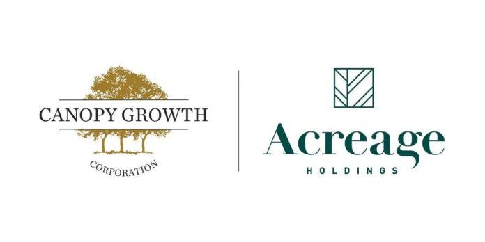 Canopy Growth Acreage Holdings THC drankenlijn VS