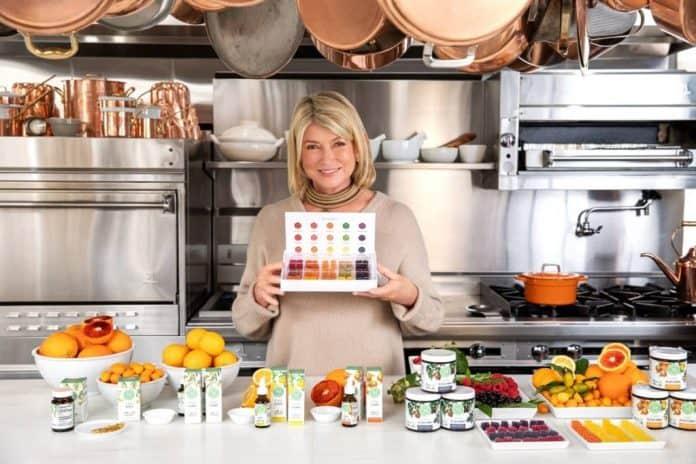 Martha Stewart Canopy Growth CBD gummies
