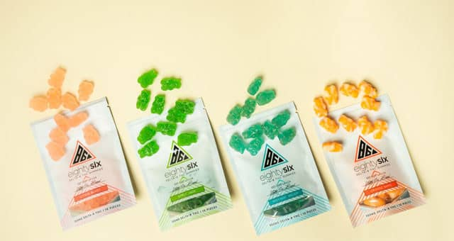 Delta-8 THC edibles gummies