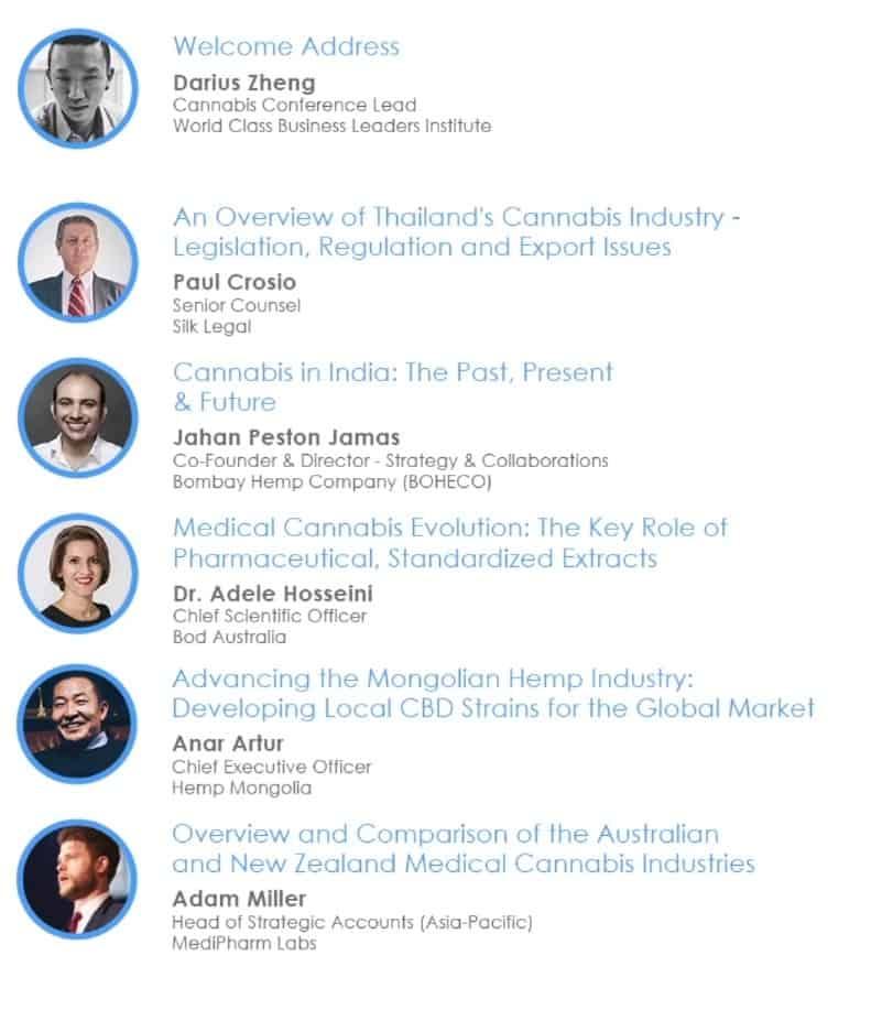 Programma Cannabis Business Asia 2021 Online Event