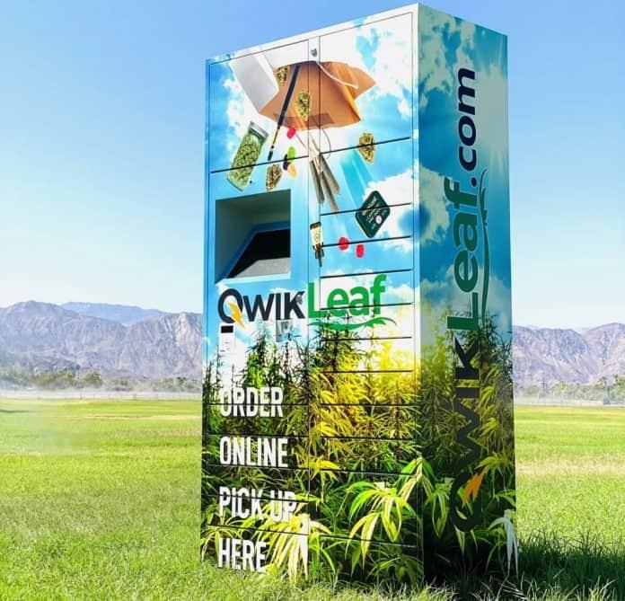 QwikLeaf Cannabis Smart Locker afhalen