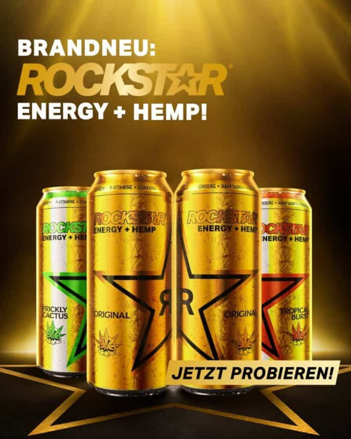 pepsico hemp energydrink rockstar energiedrank