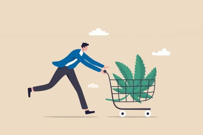 Memorial Day Weekend feest cannabis verkoop verkocht VS