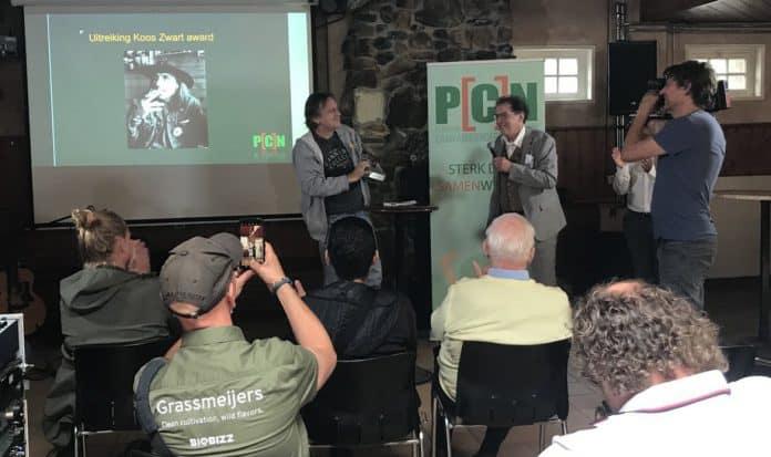 Derrick Bergman Koos Zwart Award PCN