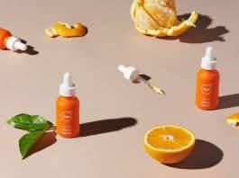 Peels CBD van sinaasappelschillen