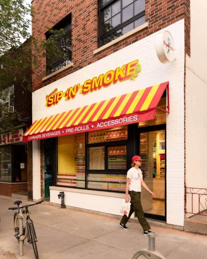 Sip 'N' Smoke Superette cannabiswinkel coffeeshop