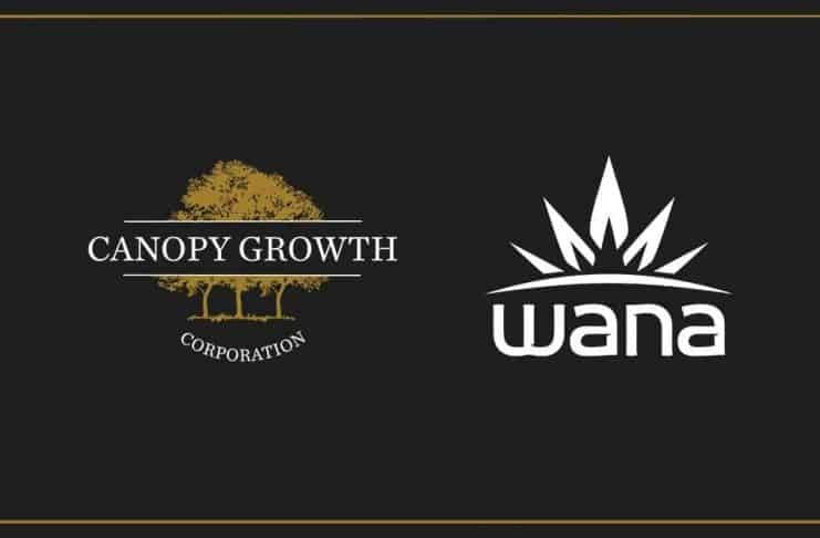 canopy growth wana brands edibles producent